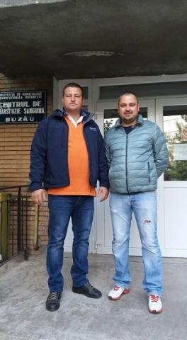 """""""Ajută Mereu, salvează o Viaţă, Vino şi Donează!"""" Buzău"""