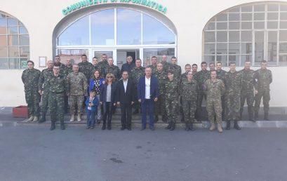 """Delegația AMVVD, în vizită la Centrul Național de Instruire Întrunită ,,Getica"""" și la Brigada 2 Vânători de Munte ,,Sarmisegetusa"""""""