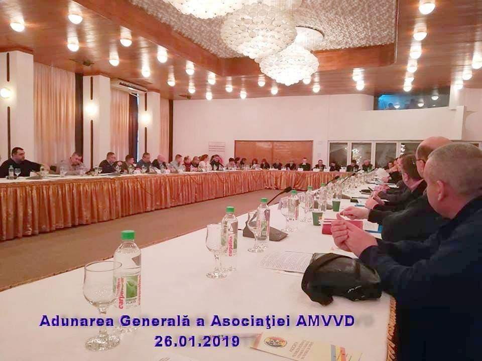 """Adunarea Generală a Asociației Militarilor Veterani și Veteranilor cu Dizabilități  """"Sfântul Mare Mucenic Dimitrie – Izvorâtorul de Mir""""- Ianuarie 2019, București"""